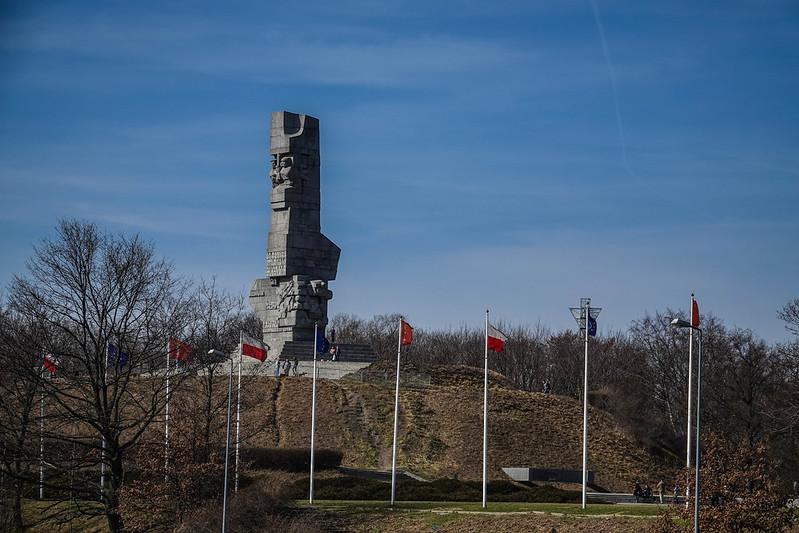 Westerplatte monument gdansk poland puola