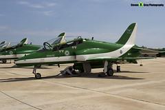 8821 - 6Y012 - Saudi Hawks - Royal Saudi Air Force - British Aerospace Hawk 65A - Luqa Malta 2017 - 170923 - Steven Gray - IMG_0268