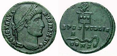 moneda cu labarum