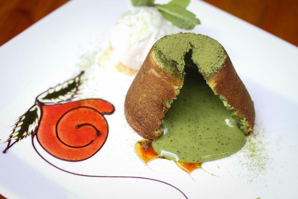 Pocoloco Matca熔岩蛋糕