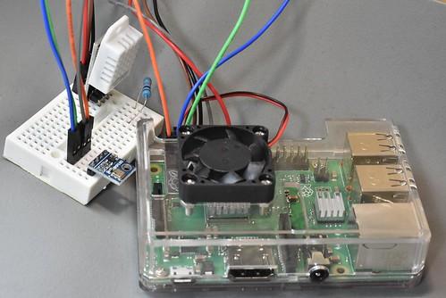 BMP085-Raspberry Pi-大氣壓力-高度計感測器