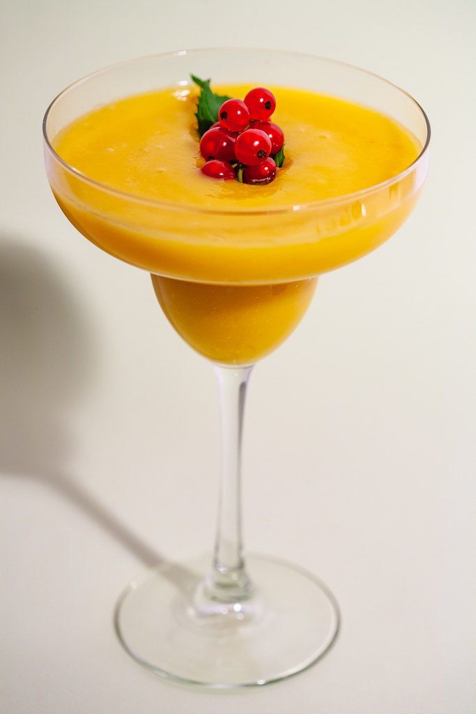 Raw mango pudding