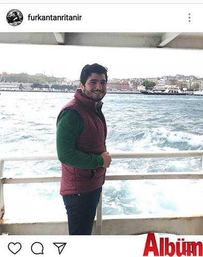 Furkan Tanrıtanır, vapur turu eşliğinde İstanbul manzarasının ve boğaz havasının tadını çıkardı.