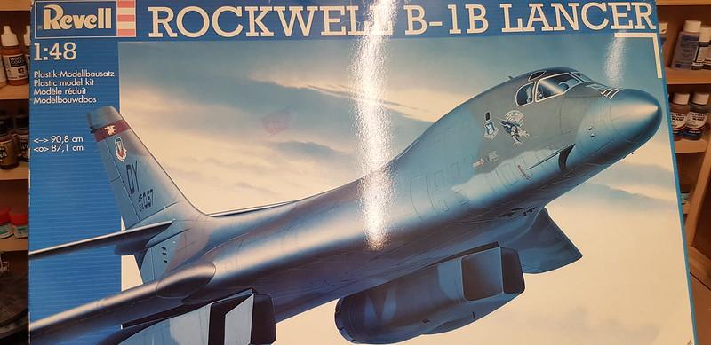 13 Mark's Revell 1/48 Rockwell B-1B Lancer - International