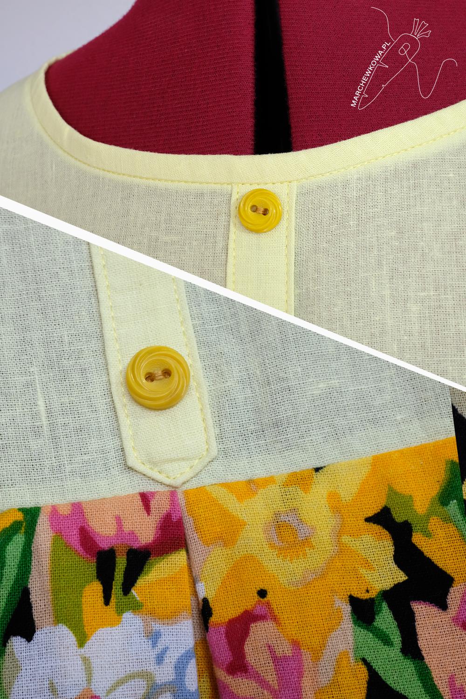 marchewkowa, blog, szycie, sewing, rękodzieło, handmade, moda, styl, vintage, retro, repro, 1950s, 1960s, Wrocław szyje, w starym stylu, MOD, dress, sukienka mini, len, bawełna, linen, cotton, Burda Moden