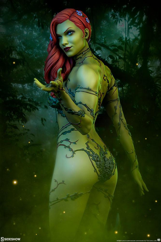 史上最環保的涼感衣?!Sideshow Collectibles Premium Format Figure 系列 DC Comics【毒藤女】Poison Ivy 1/4 比例全身雕像作品