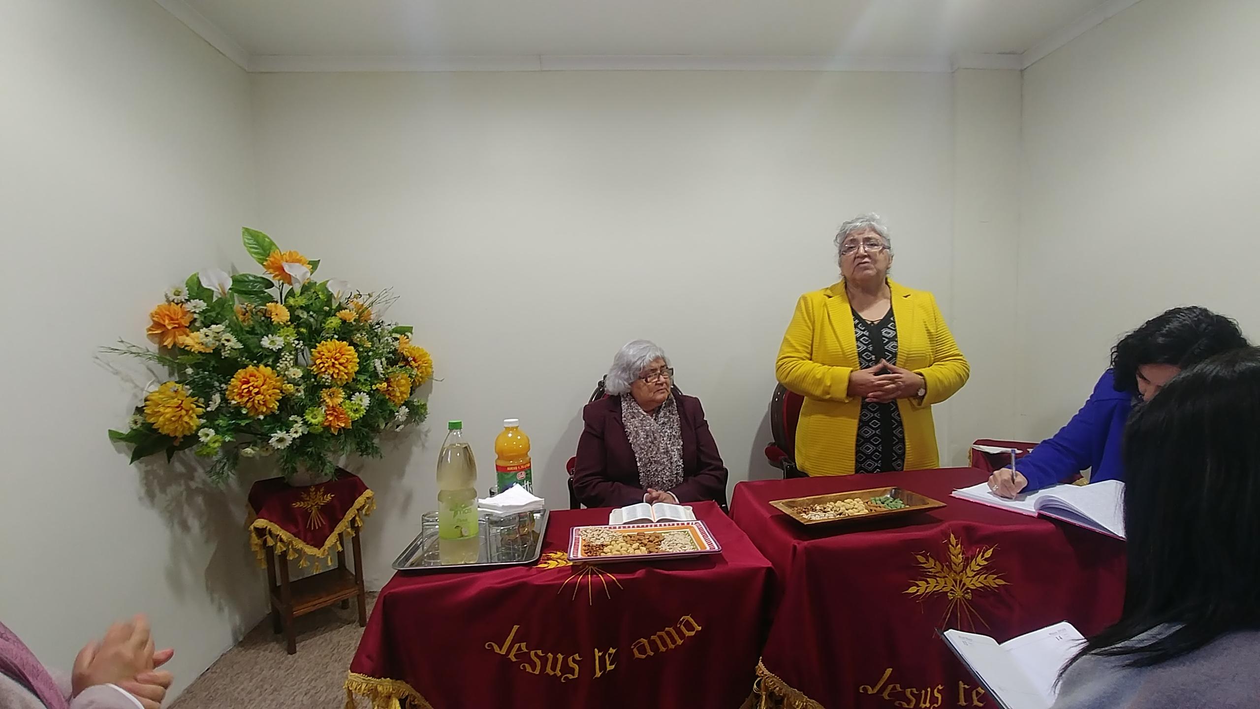 Reunión de Pastores en Coelemu