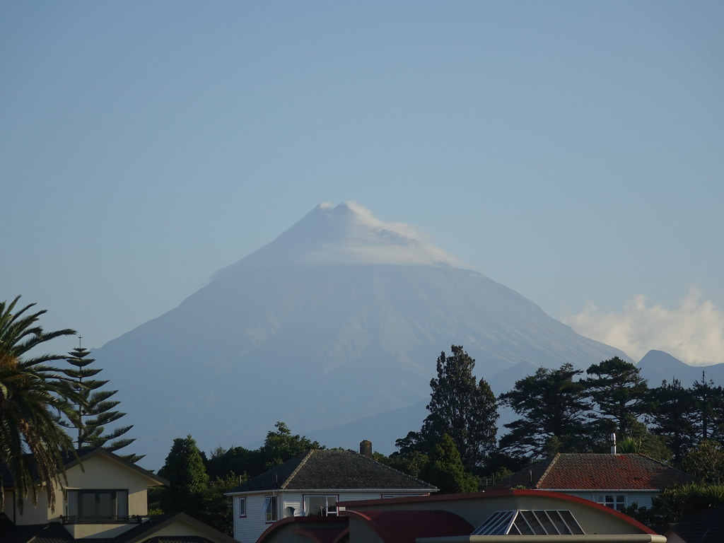 Mount Taranaki from New Plymouth