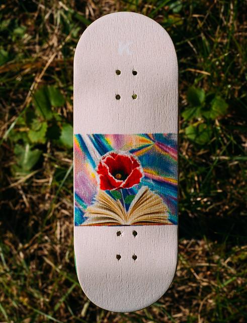 KARAT Fingerboards - Woodprint Flower