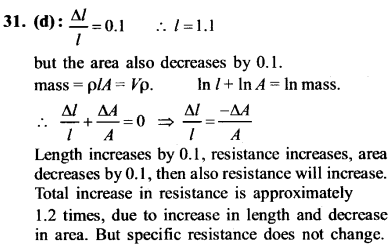 NEET AIPMT Physics Chapter Wise Solutions - Current Electricity explanation 31