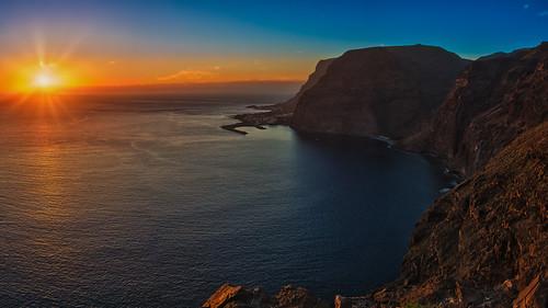La Gomera Sunset Panorama