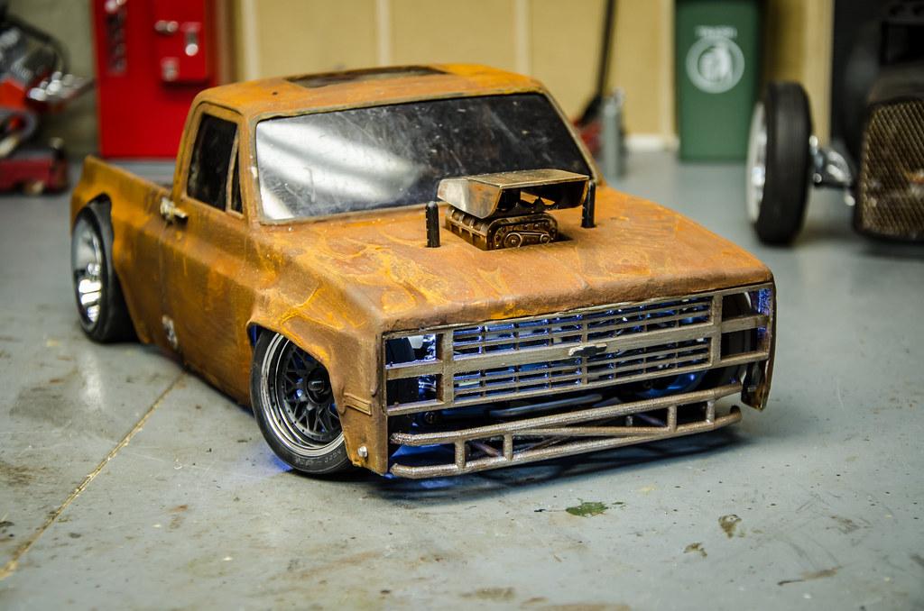 Tamiya Ta02 Drift Truck Squarebody Build Part1 New Video C Flickr