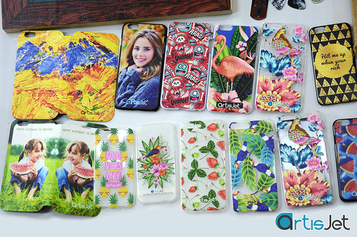 No limit for phone covers with artisJet
