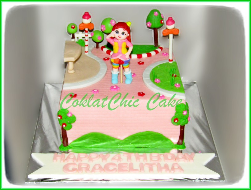 Cake Rainbow Ruby GRACELITHA 15 cm