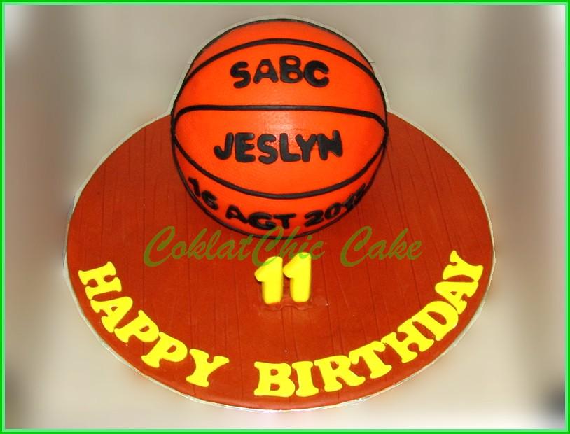 Cake Basket Ball JESLYN 15 cm