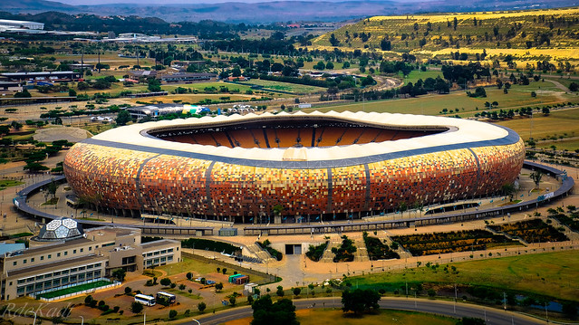 'The Calabash ' - Soccer City!