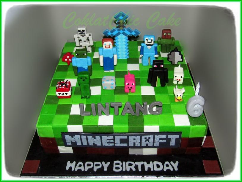 Cake Minecraft LINTANG 30 cm