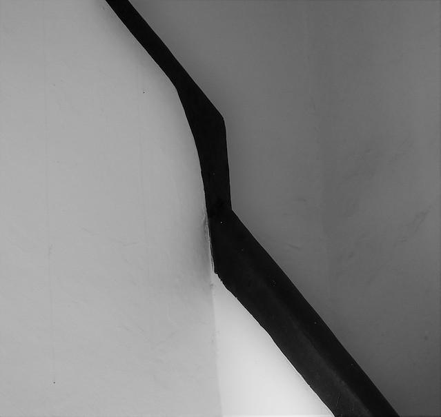 Xàtiva, detalle interior de la antigua mansión.