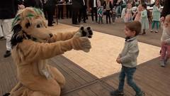Kato Lion am Kinderfest des 630. Maiabendfest Bochum