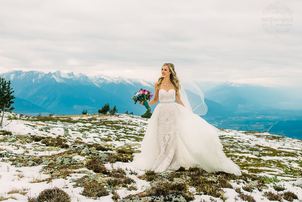 Mountaintop Bride - Mount Terry Fox