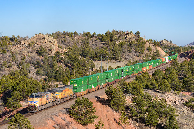 UP 5558 @ Buford, WY