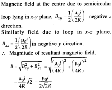 NEET AIPMT Physics Chapter Wise Solutions - Moving Charges and Magnetism explanation 21.1