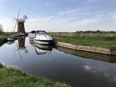 Horsey Windpump, Norfolk complete with new sails