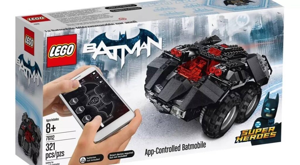 App Controlled Batmobile Box