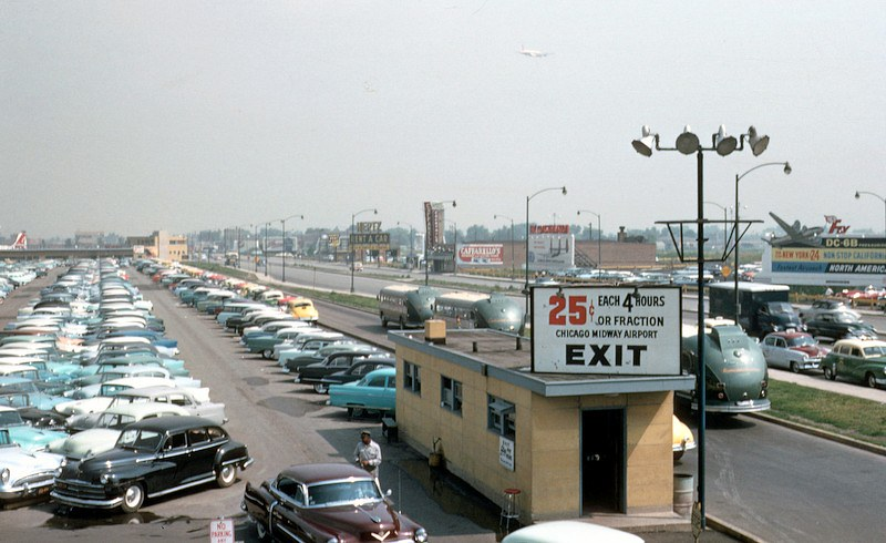 Midway Airport Parking >> Chicago Midway Airport Parking Lot And Cicero Ave North Flickr