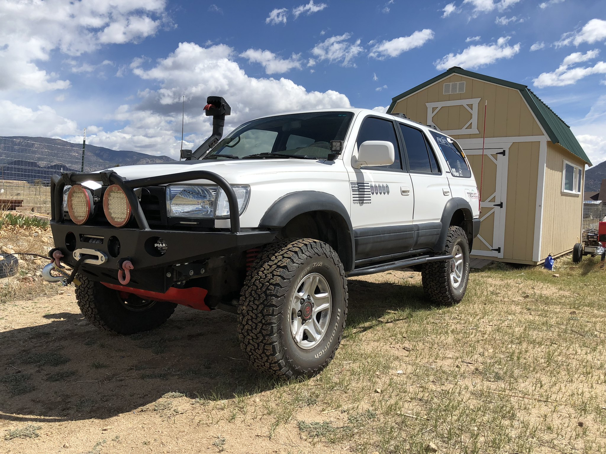 1996 Toyota 4runner Lifted