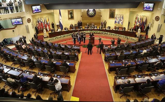 Sesión solemne , Legislatura 2018-2021.