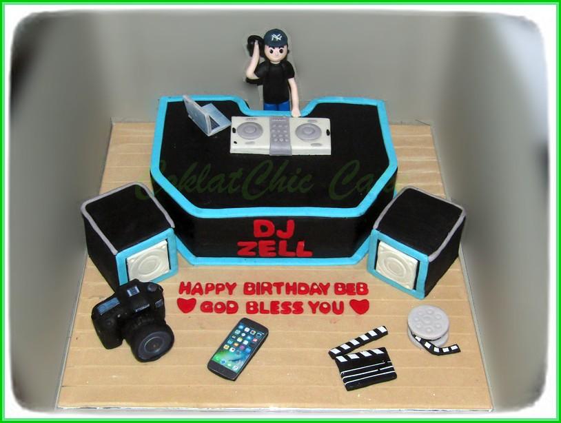 Cake DJ 18 cm