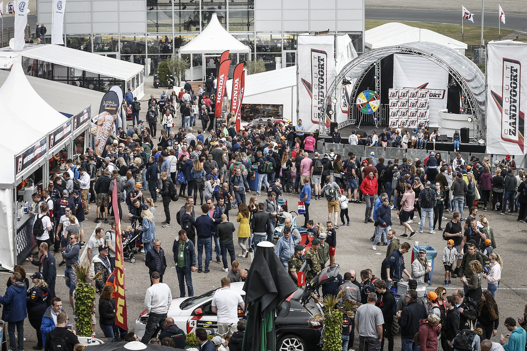 foule crowd during the 2018 FIA WTCR World Touring Car cup of Zandvoort, Netherlands from May 19 to 21 - Photo Francois Flamand / DPPI