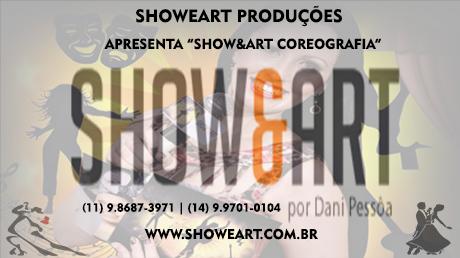 CARTÃO SHOWEART COREOGRAFIA