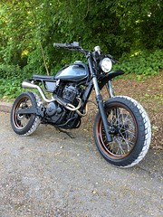 Kevils Moto #35 Honda fx650 Scrambler Custom