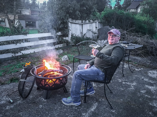Houston with Fire Pit