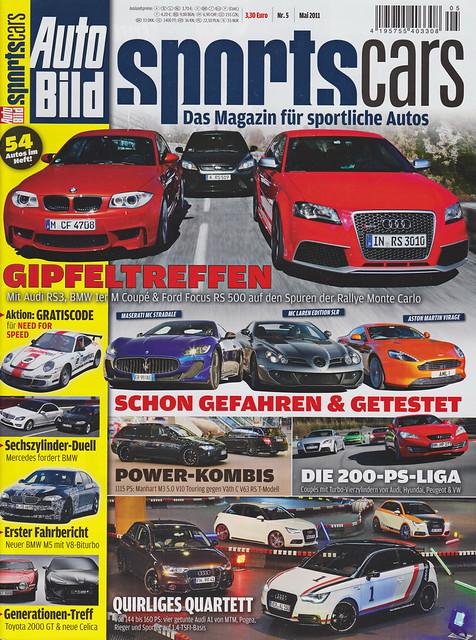Auto Bild Sportscars 5/2011