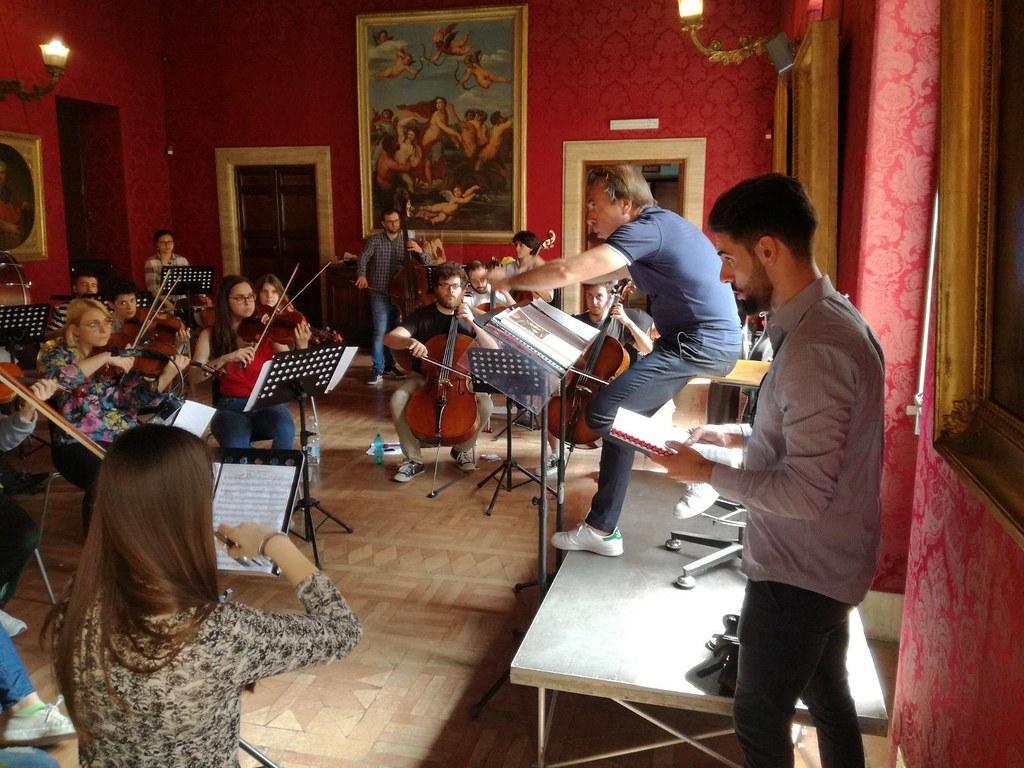Orchestra Erasmus, Concerto per l'Europa (8 maggio 2018, Roma, Teatro Brancaccio)