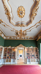 The Library ceiling - Wrest Park , Bedfordshire