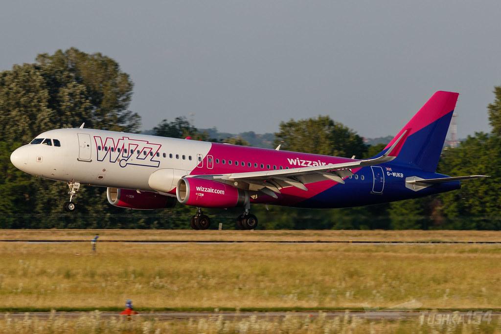 Wizz Air UK | Airbus A320-232 | G-WUKB | BUD/LHBP