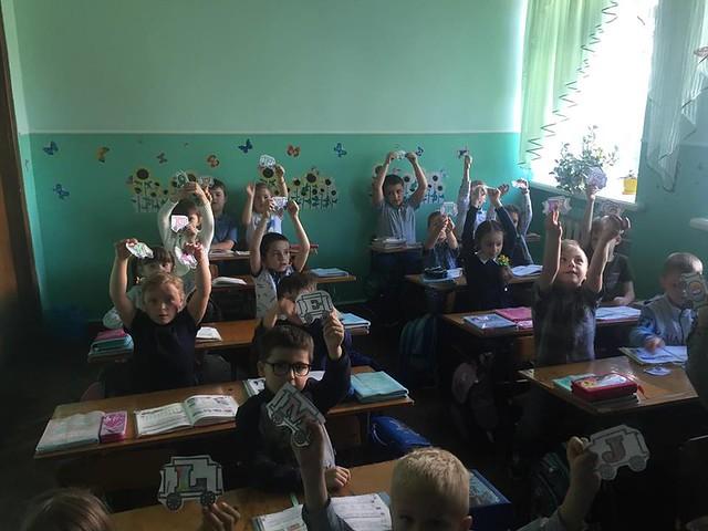ABC-party для першокласників у ЗОШ №47