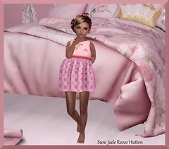 1. Cherry Tots Pink Pony dress