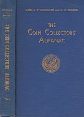 Hans Schulman Coin Collectors Almanac book cover