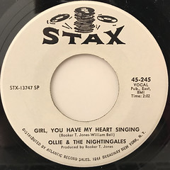 OLLIE & THE NIGHTINGALES:I GOT A SURE THING(LABEL SIDE-B)