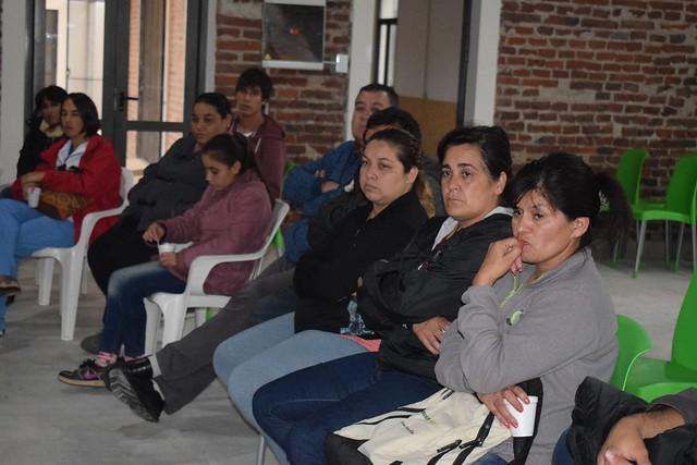 Ispizua se reunió con vecinos de Sierras y Parques