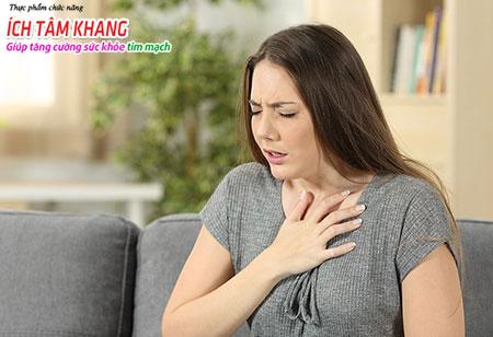 Khó thở là một trong những dấu hiệu cảnh báo hở van tim 3 lá 2/4 đang có tiến triển nặng lên