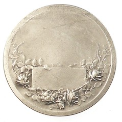 Amiens Cathedral Medal reverse