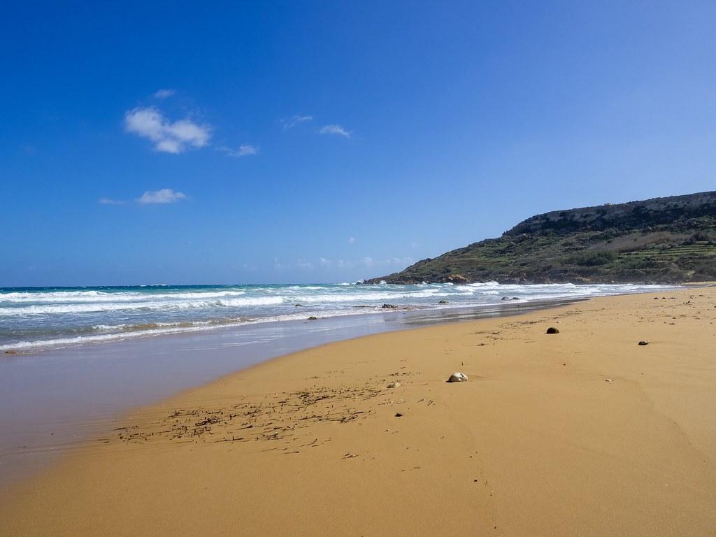 Ramla Bay beach Gozo