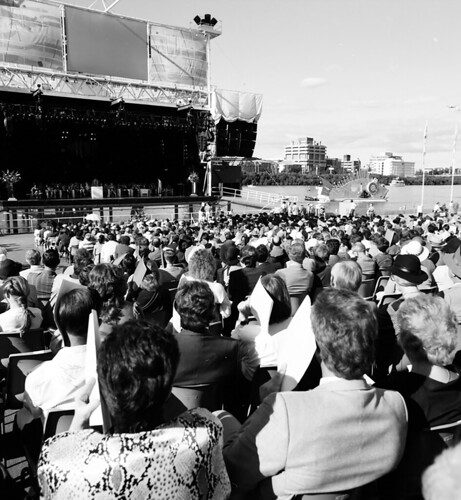 UQ Graduation Ceremony at Expo '88