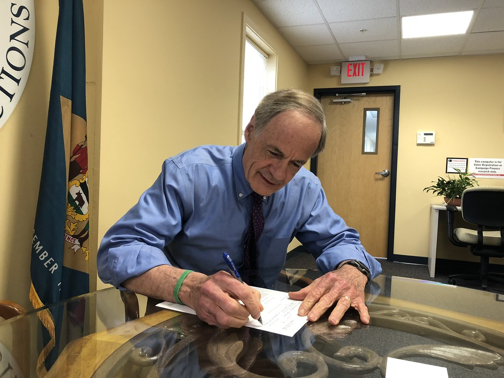 Sen. Tom Carper: A conversation on his campaign and today's politics